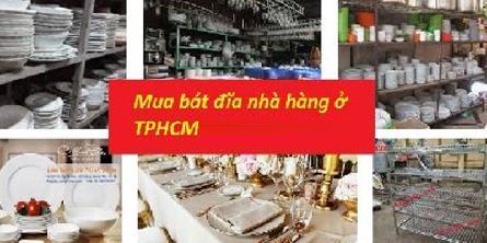 Đơn vị mua Thanh Lý Bát Đĩa Nhà Hàng ở tại tphcm