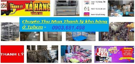 Công ty chuyên thu mua hàng thanh lý ở khu vực TpHCM