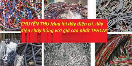 Cửa hàng là đơn vị chuyên mua thanh lý dây điện thiết bị điện cũ giá cao nhất tphcm