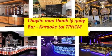 Thanh Lý Đồ Quán Cafe Karaoke Tại TpHCM