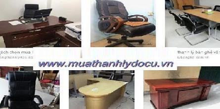Cửa hàng thu mua thanh lý bàn ghế giám đốc bàn họp cũ tại tphcm
