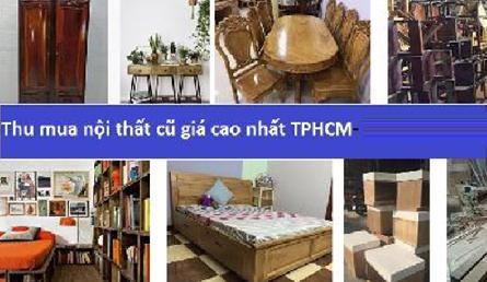 Chuyên thu mua nội thất giường tủ bàn ghế cũ địa bàn ở Tphcm